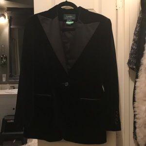 Ralph Lauren Tuxedo blazer jacket with pants set